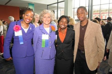 Kathy at CWA Reception