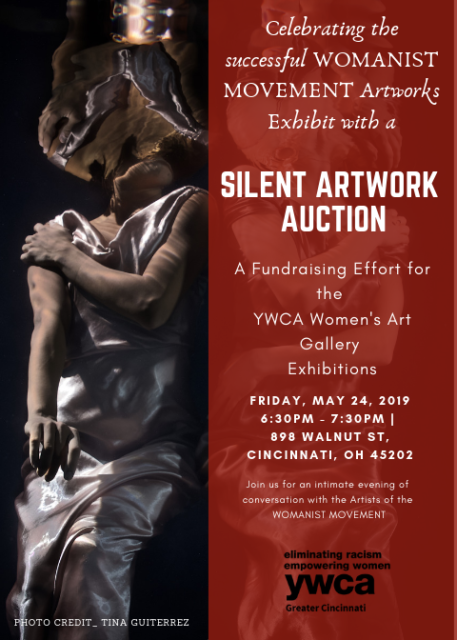 Silent Artwork Auction & Closing Reception @ YWCA Women's Art Gallery
