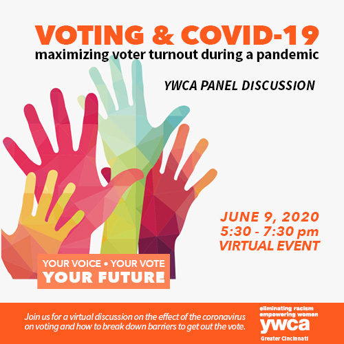 Voting & COVID-19: Maximizing Voter Turnout During a Pandemic @ Virtual Event